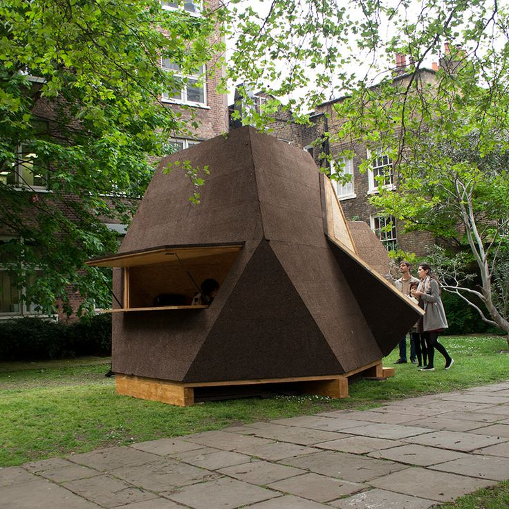 Superior Cork Clad Tetra Shed® Kiosk At Clerkenwell Design Week 2013 | Tetra Shed® |  Pinterest | Kiosk