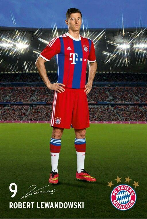Robert Lewandowski, FC Bayern München. #FCB #MiaSanMia #Lewandowski