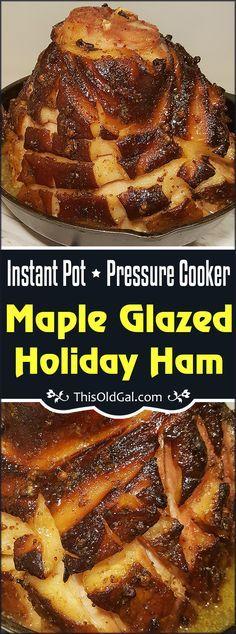 Instant Pot Maple Glazed Holiday Ham Image