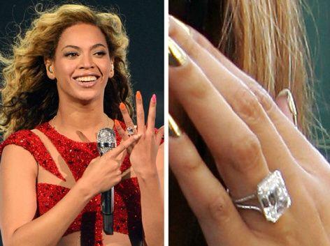 Beyonce's Flawless 18-Carat Ring. Pinterest:@jordanlanai