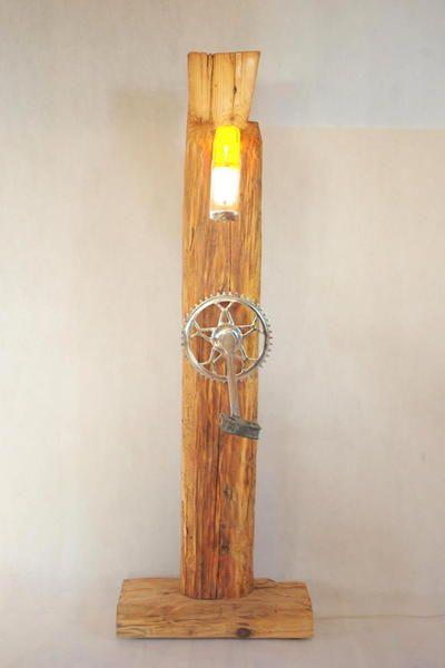 Lampa z Moskwiczem :) w Art Wood Kawkowo na DaWanda.com