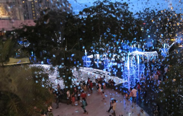 Christmas City at Central Park Mall, Jakarta