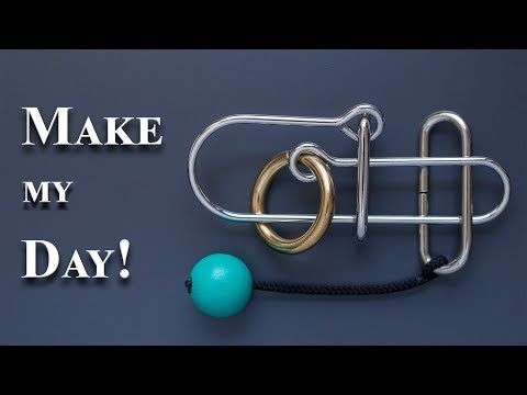 Make My Day! - A Wire Puzzle - YouTube
