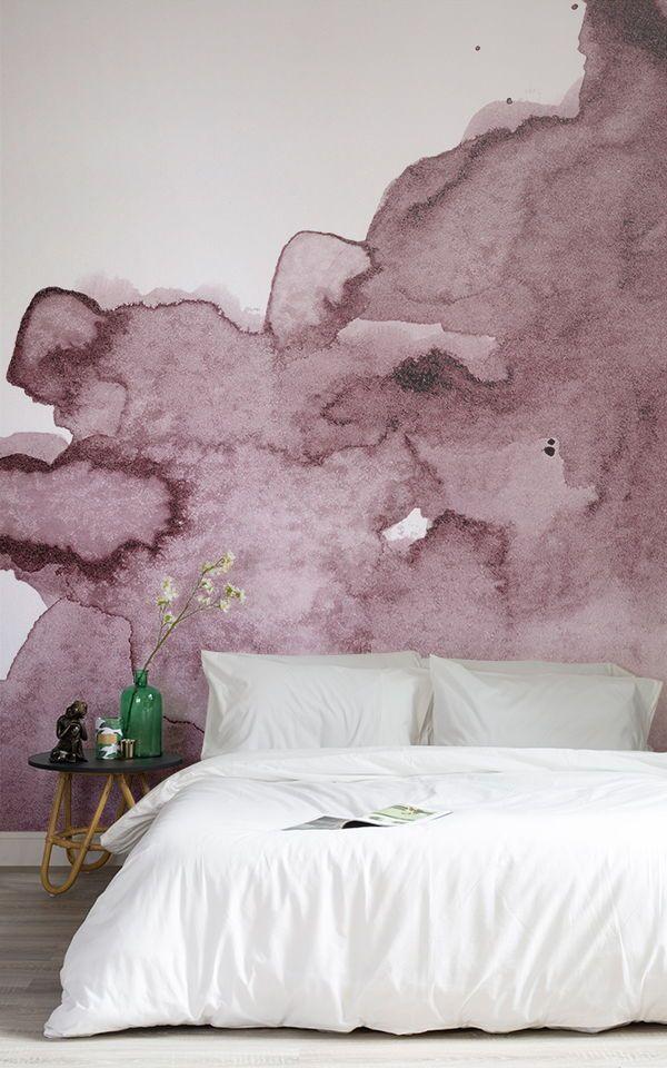 Pin By Adriana Kazue Pereira Dona On Cama In 2020 Pink Wallpaper Bedroom Pink Bedroom Decor Watercolor Wallpaper