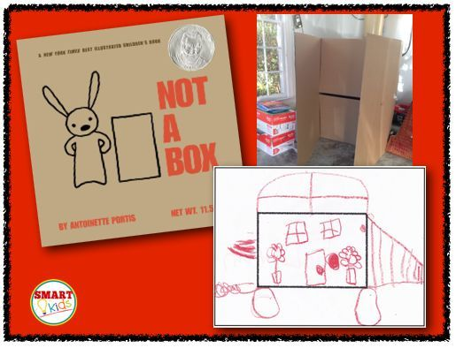 Smart Kids: Ideas for Not a Box by Antoinette Portis, math combinations and creative drawing