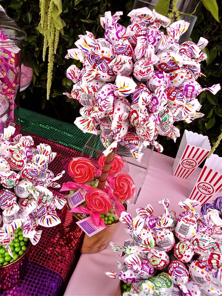 A quot bouquet sweet candy land party ideas