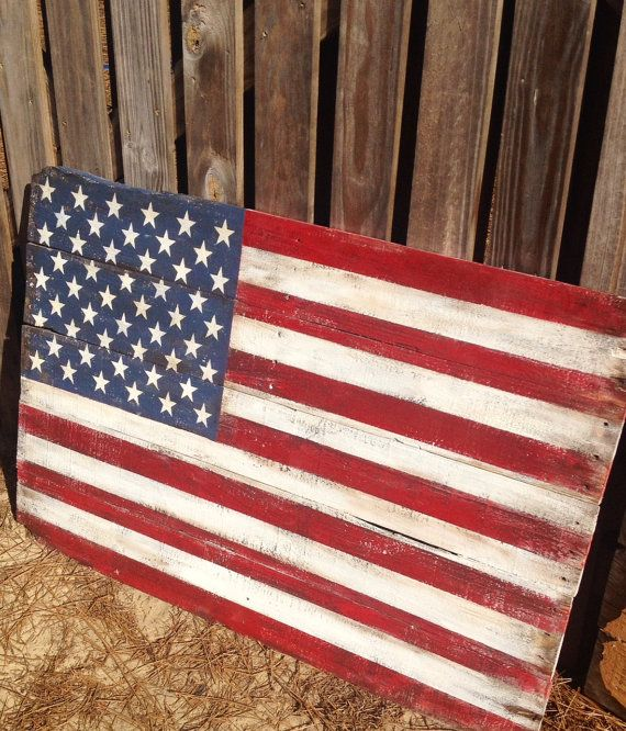 4th Of July Fence Decor