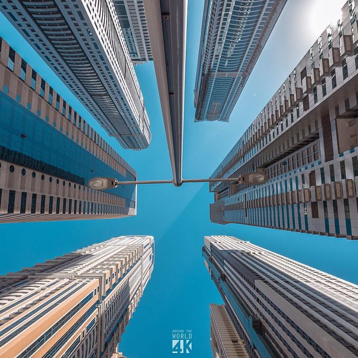 """The Dubai Marina, also known as the """"tallest block in the world"""""""
