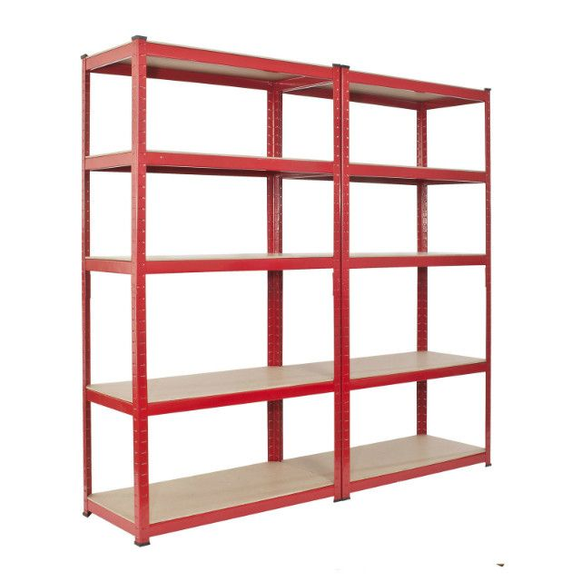 Garage or Shed Shelving Unit Heavy Duty Racking Ideal Storage For Home Use - Choice of Sizes - Gardenbox