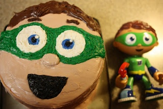 The Anderson Family: Super Why Cake