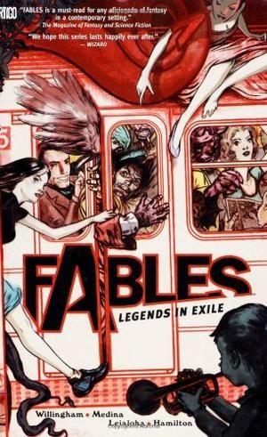 """""""Fables Vol. 1 - Legends in Exile"""" av Bill Willingham"""