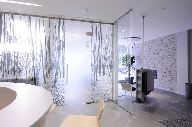dental office design -Lounge with feng shui