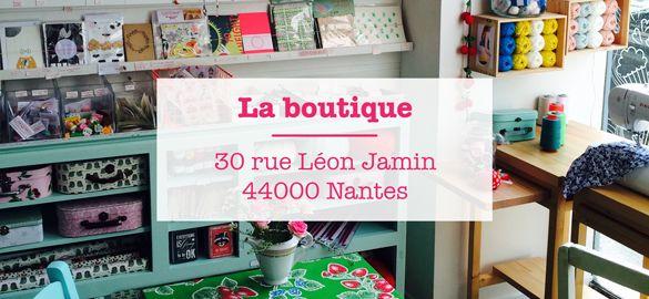 Henry et Henriette - Boutique créative et salon de thé Nantes - Henry et Henriette