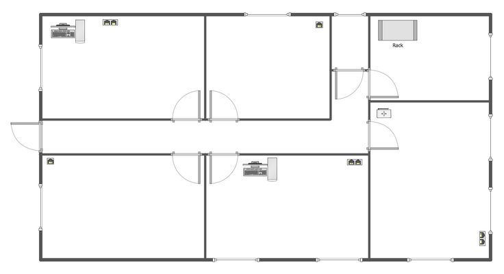 10 best Computer and Networks — Network Layout Floor Plans