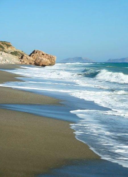 Ligres Beach in Plakias, Rethymno, Crete