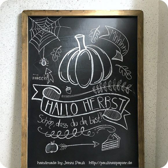 tafel beschriften chalkboard lettering selbermachen handlettering pinterest herbst. Black Bedroom Furniture Sets. Home Design Ideas
