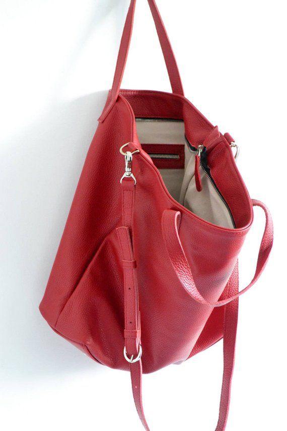 d76f3a9ba1 RED TOTE BAG