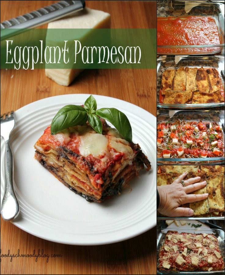 Eggplant Parmesan  - This recipe has taken me years to perfect, but I can confidently say it's the BEST Eggplant Parmesan recipe!