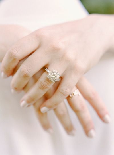 Classic Westchester Engagement Session: www.stylemepretty... | Photography: Rebe...