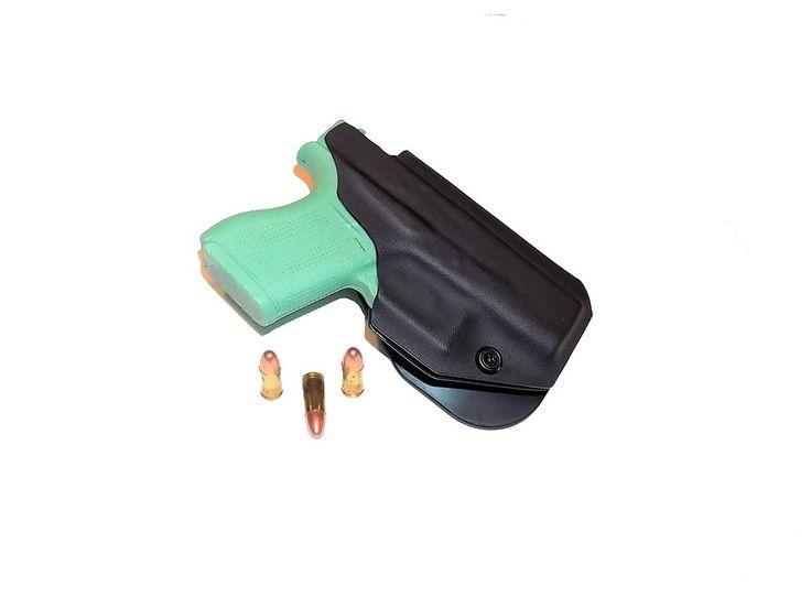Aggressive Concealment G43OWB OWB Kydex Paddle Holster Glock 43