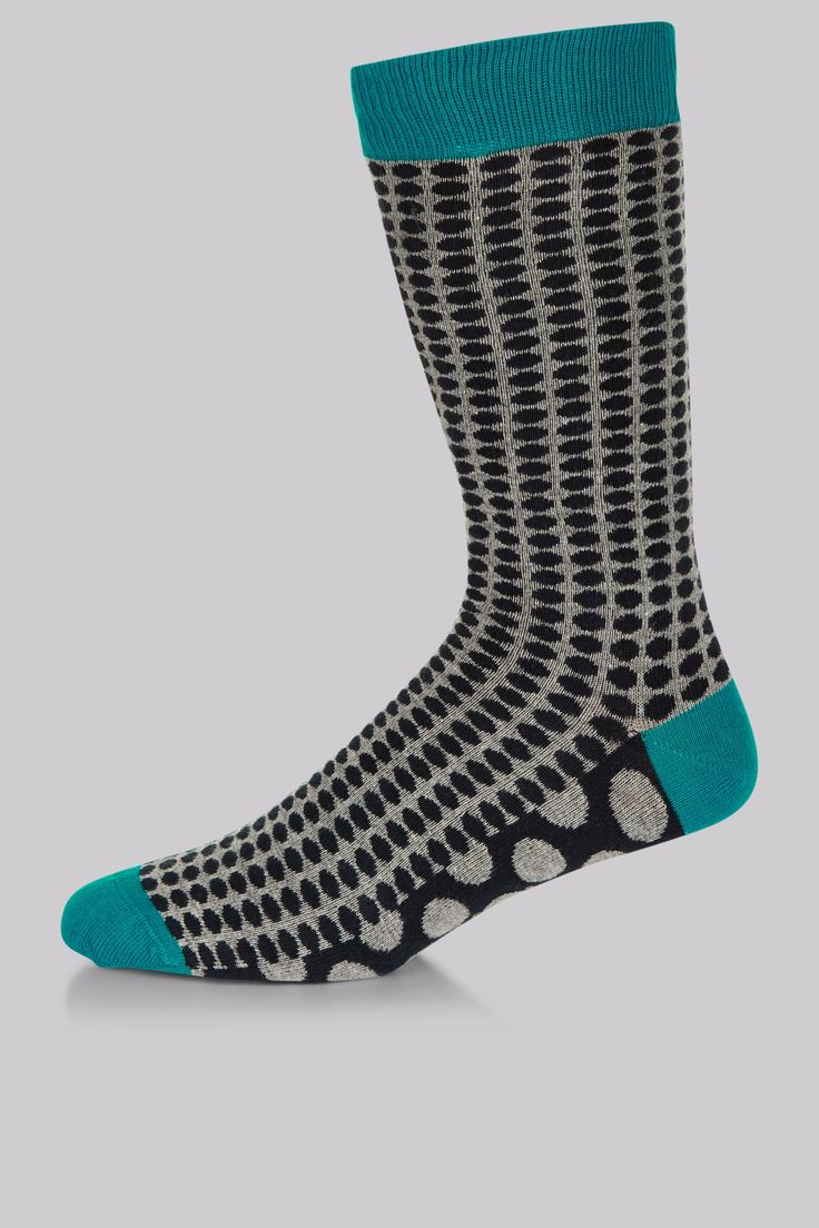 Ted Baker Grey Multi Spot Socks Spot on socks. Grey with a geometric pattern of black spots, these Ted Baker socks bring just the right level of personality to your work attire. At the end of the day when your shoes are off the bold http://www.MightGet.com/january-2017-12/ted-baker-grey-multi-spot-socks.asp