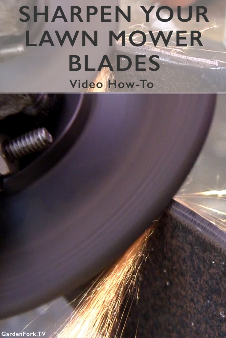 Learn how to sharpen lawn mower blades in this DIY video! Sharp mower blades mean healthy grass. I sharpen the blades a few times a year, makes a big difference.