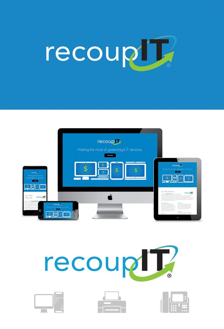 RecoupIT – Branding, Website & Illustration by Ephyra Group