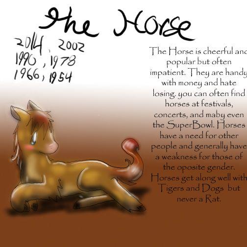 Zodiac The Horse by Dei--dara on deviantART