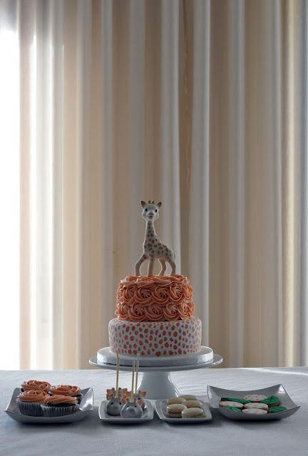 Bolos por Gosto: A Girafa-1º Aniversário da Maria Luisa
