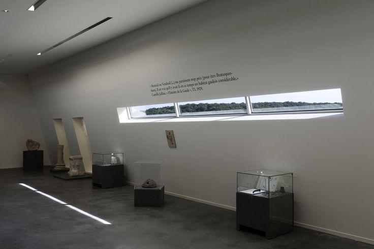 Vue Intérieure salle d'exposition