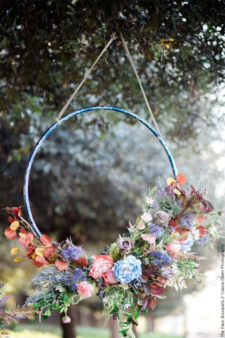 2018 Wedding Trends : Wreaths