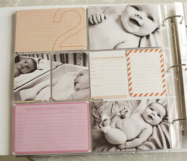Project Life : Baby Edition for Her : The First Eleven Pages » Heather Johnson Photography