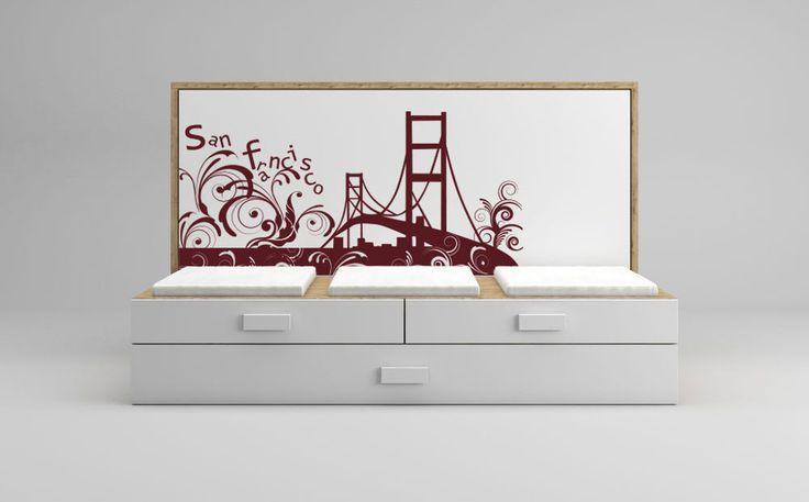 Las 25 mejores ideas sobre sof cama nido en pinterest y for Sofa cama con cajones