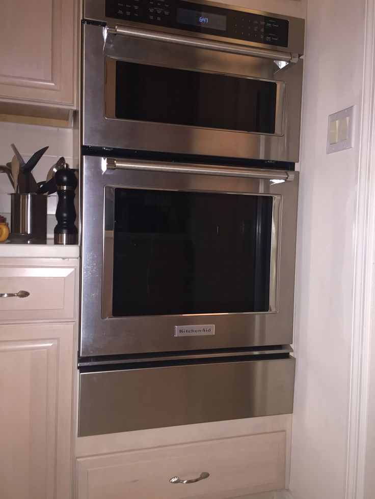 Exceptional Wall Oven Fillir Strip For A KitchenAid Combination Wall Oven, Model #  (After)
