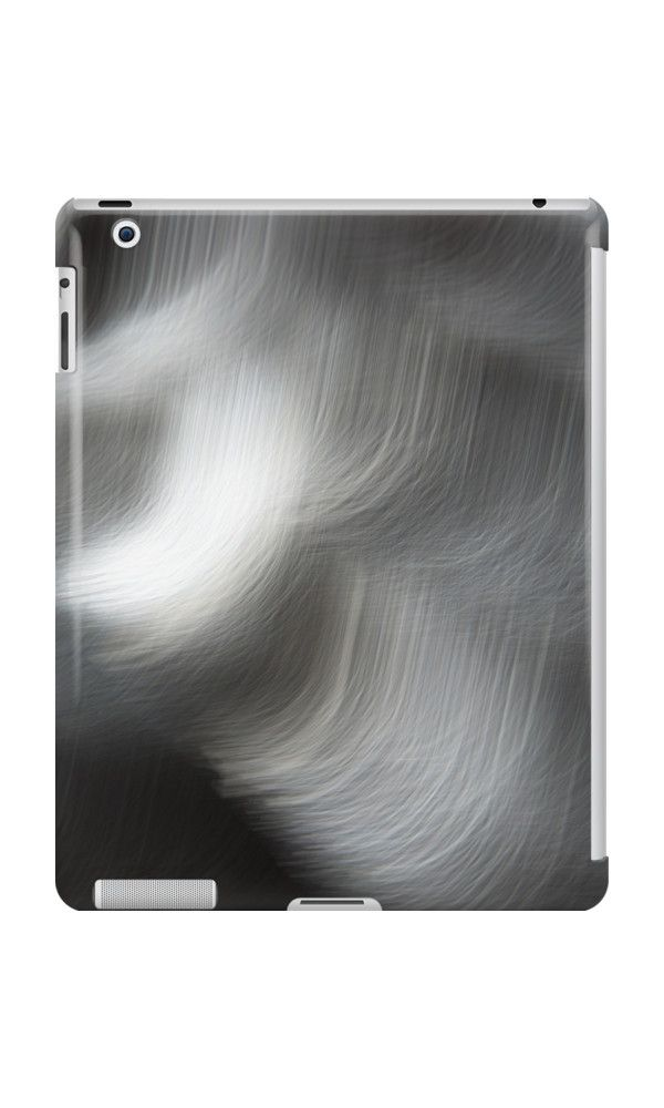 Black and White Abstract Flying Birds IPad cases and skins by Galerie 503