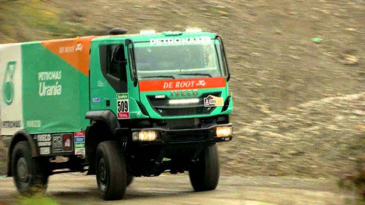 The Petronas De Rooy Iveco Team towards the Dakar 2015