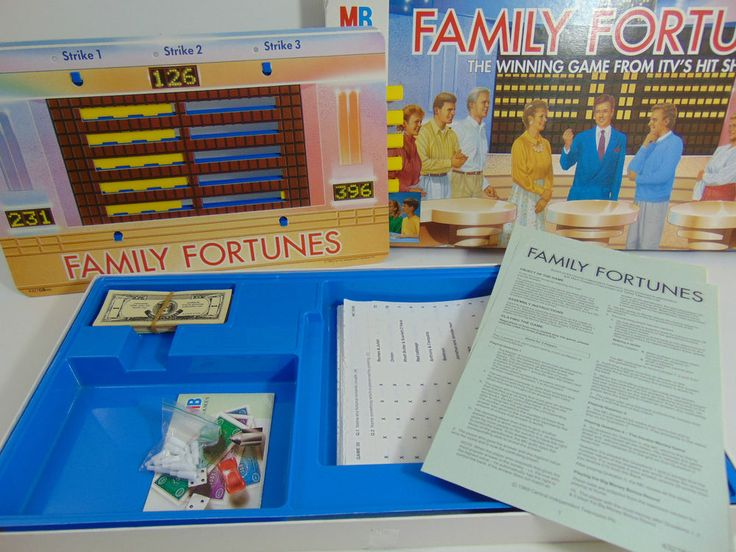 Vintage Family Fortunes Game - Free UK Postage