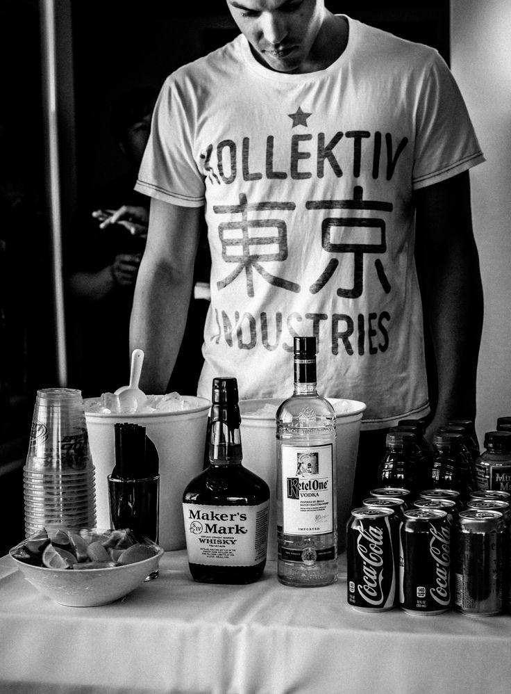 The comp'd tray of goods. Hard Rock Hotel - Las Vegas. Kollektiv Industries Tokyo Round T-Shirt.   . tshirt . fashion .
