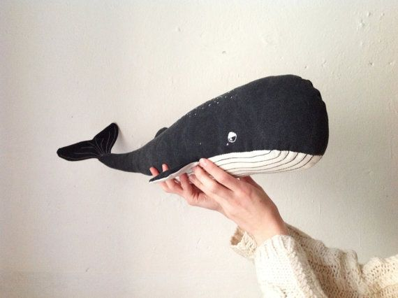 The Big Whale / Made to order by Talpathings on Etsy