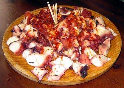 Pulpo a la Gallega - Galician style octopus
