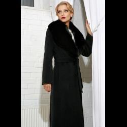 Женское зимнее пальто утепленное