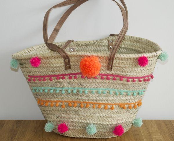 DIY: Van saaie strandtas naar hippe Ibiza bag - redfashionhead.nl