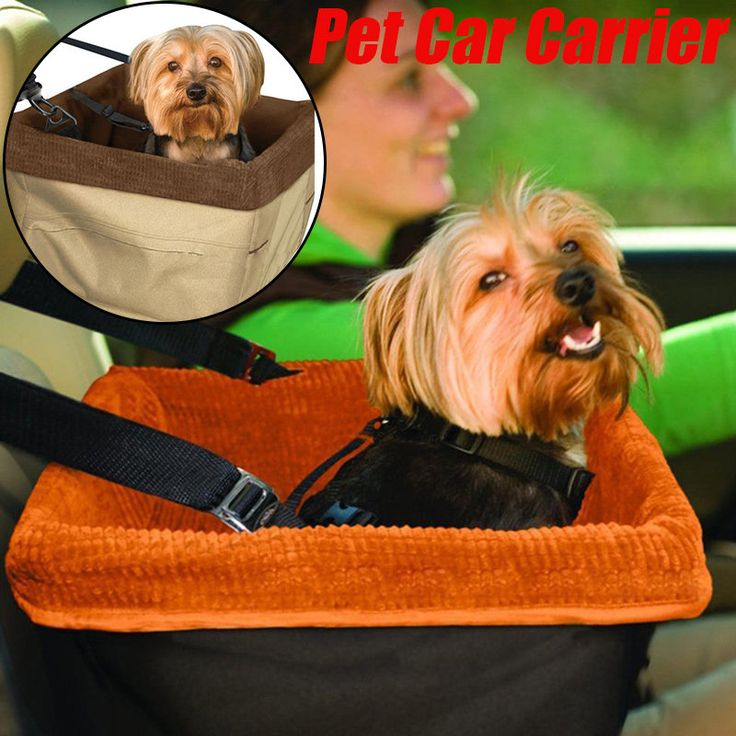 Dog Seat Safety Travel for Small and Medium Dog Front Seat Foldable Vehicle Carrier Pet Booster Seat
