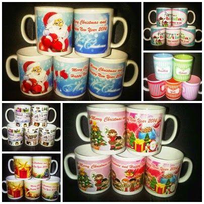 Mug Souvenir Murah Natal Dan Tahun Baru 2015
