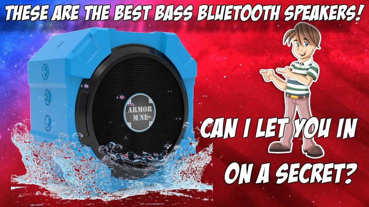 These Have To Be The Best Bass Bluetooth Speakers http://youtu.be/yC5OG2jYn0k