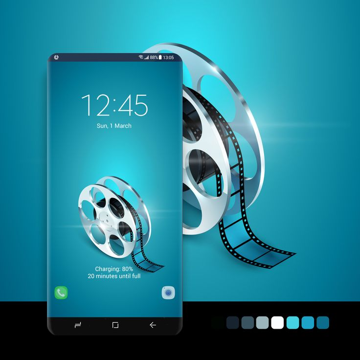 Film reel wallpaper zerustudio #wallpaper, #android, #phone, #smartphone, #samsu...