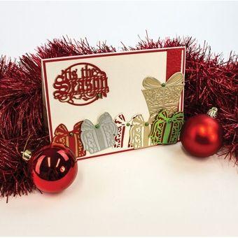 Tonic Studios Christmas Rococo Festive Gift Die Set 1