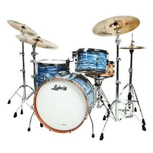Ludwig Cavern Club Fab 4 3-Piece Blue Oyster Pearl:  Tympan, Blue Oysters, Beautiful Drums, Oysters Pearls, Click Image, Ludwig Cavern, Drums Kits, Cavern Club, Club Fab