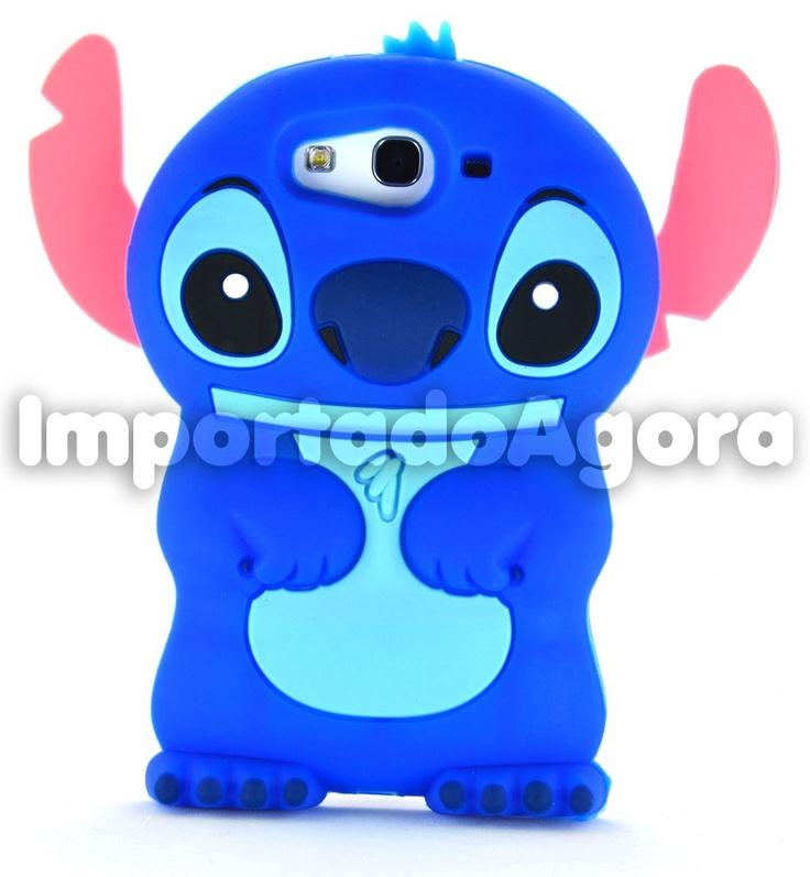 Capa Silicone 3D - Stitch para Samsung Galaxy S3 i9300       Para mais informações, clique na imagem :)