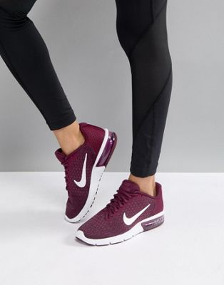 Nike Running Air Max Sequent Trainers In Purple  580d75258